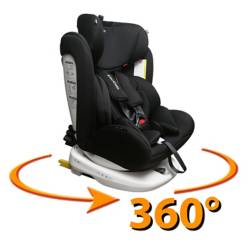 Kidscool - Silla De Auto 360 Negro
