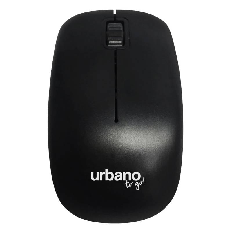 Urbano Design - Mouse Wireless Negro
