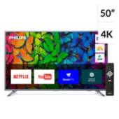 """Philips - LED 50"""" PUD6513/44 4K Ultra HD Smart TV"""