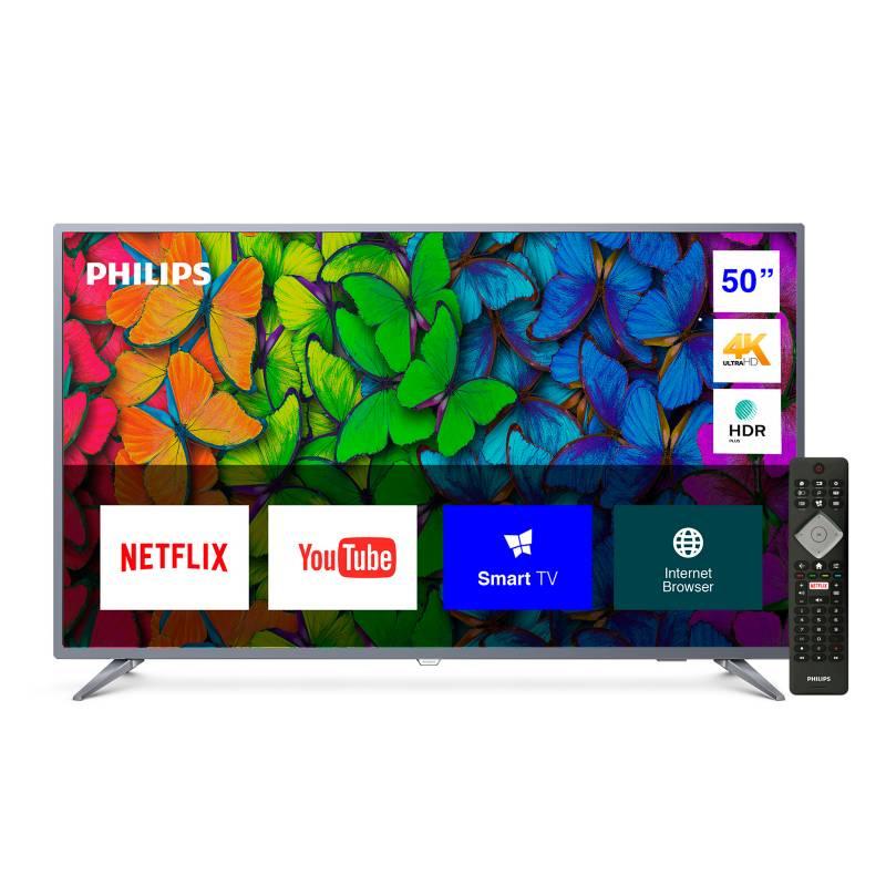 """PHILIPS - LED 50"""" 50PUD6513/44 4K Ultra HD Smart TV"""
