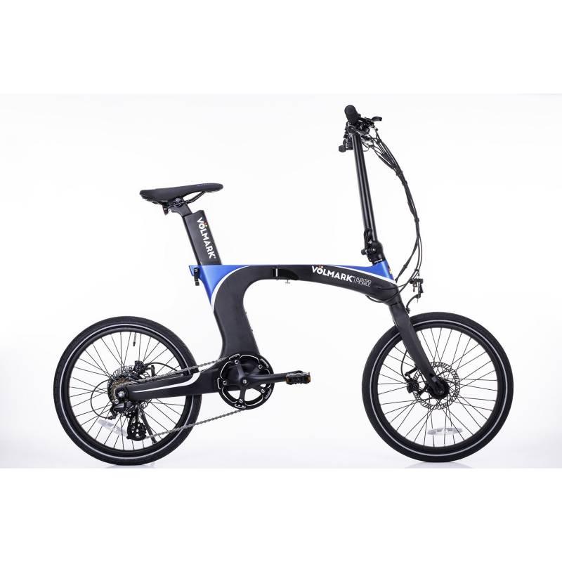 VOLMARK - Bicicleta Eléctrica Plegable Galaxy Azul