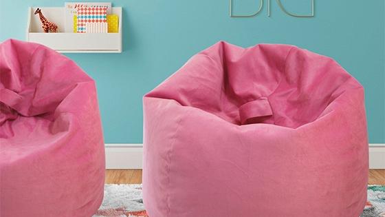 Pouf 75 x 75 cm color Rosado