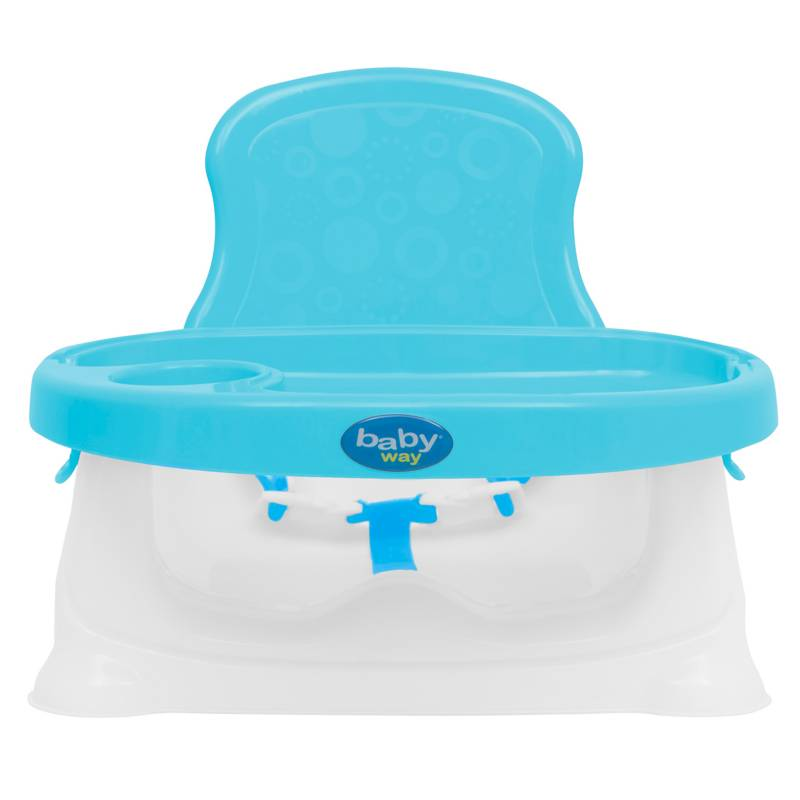 Baby Way - Silla de Comer Portátil Azul