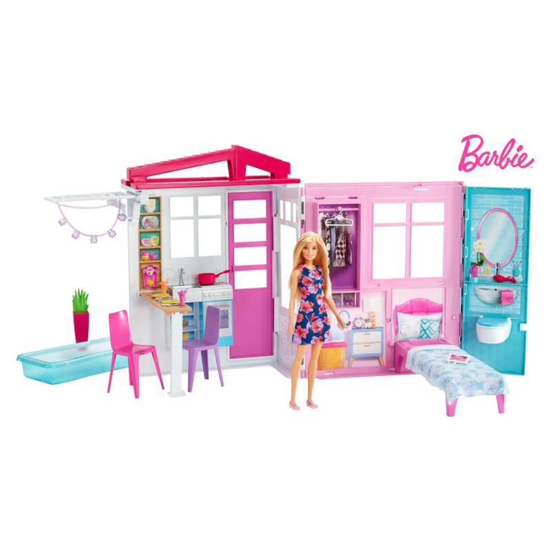 Barbie - Nueva Casa Glam con Muñeca