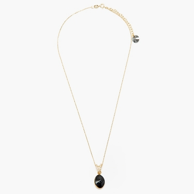 Collar Oval Chic Gold Necklace