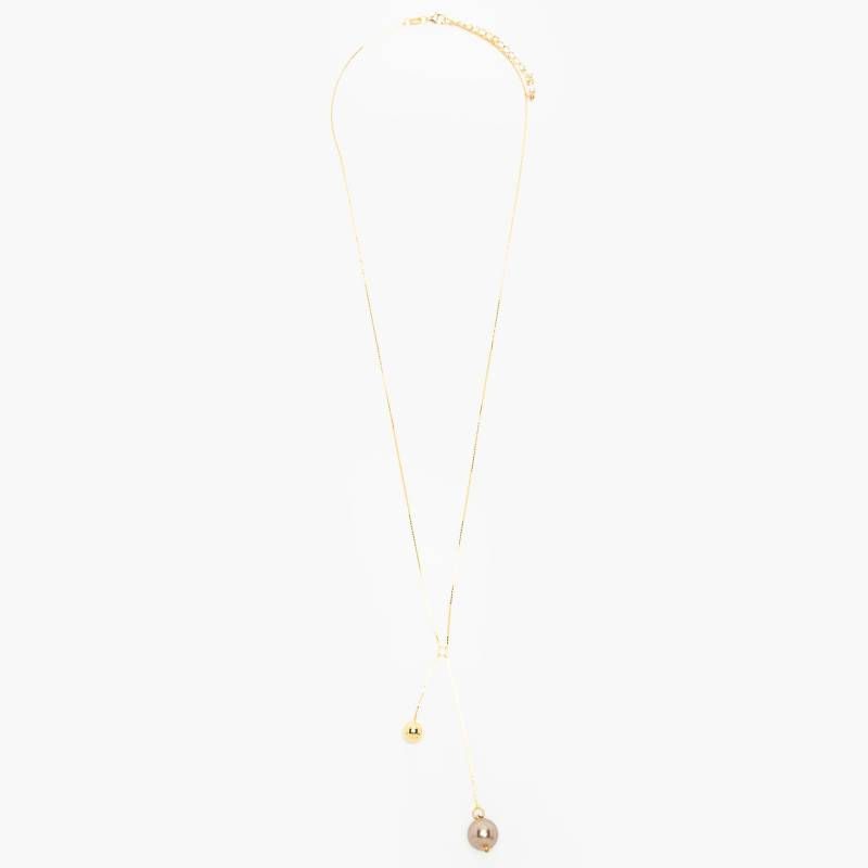 Spark - Collar Hazen Gold Necklace Bronze