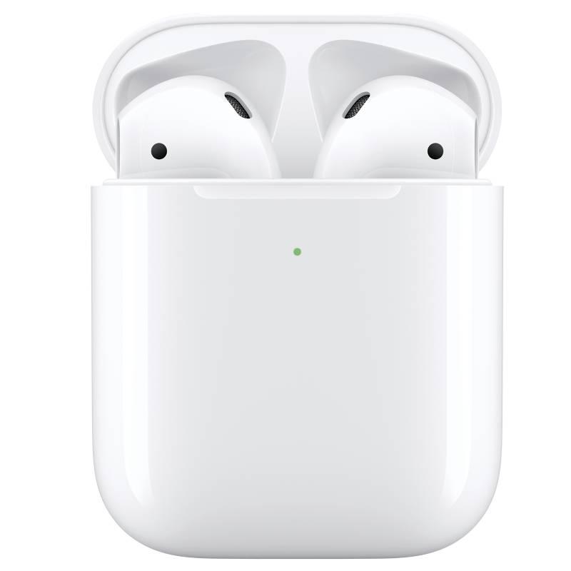 APPLE - Apple AirPods Con Estuche De Carga Inalámbrica (2 generación)