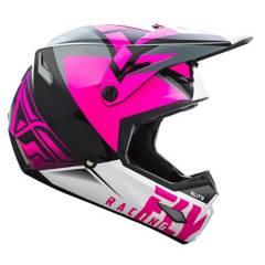 FLYRACING - Casco Mx Pink/Black
