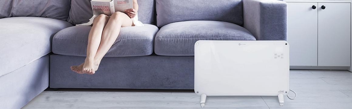 Panel Calefactor Muro/Piso de Cristal WiFi SmartHome 15 m², Chile