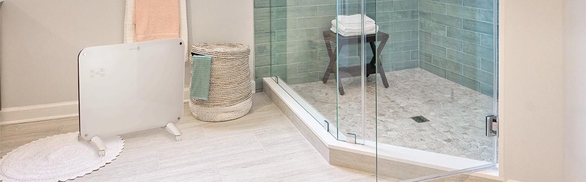 Panel Calefactor Muro/Piso de Cristal WiFi SmartHome 15 m², Limpio y versátil