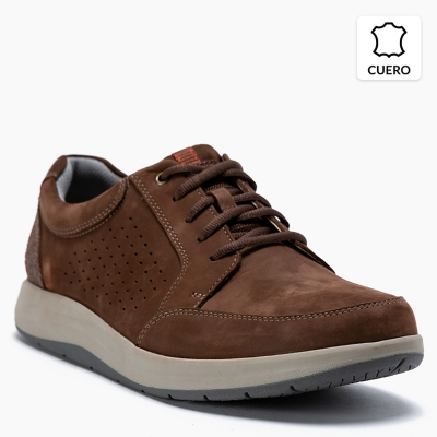 Zapato Casual Cuero Hombre 26142179