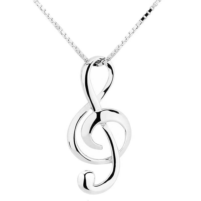 4ef69fa19d98 Todo Joyas Collar Colgante Nota Musical Plata Fina 925 - Falabella.com