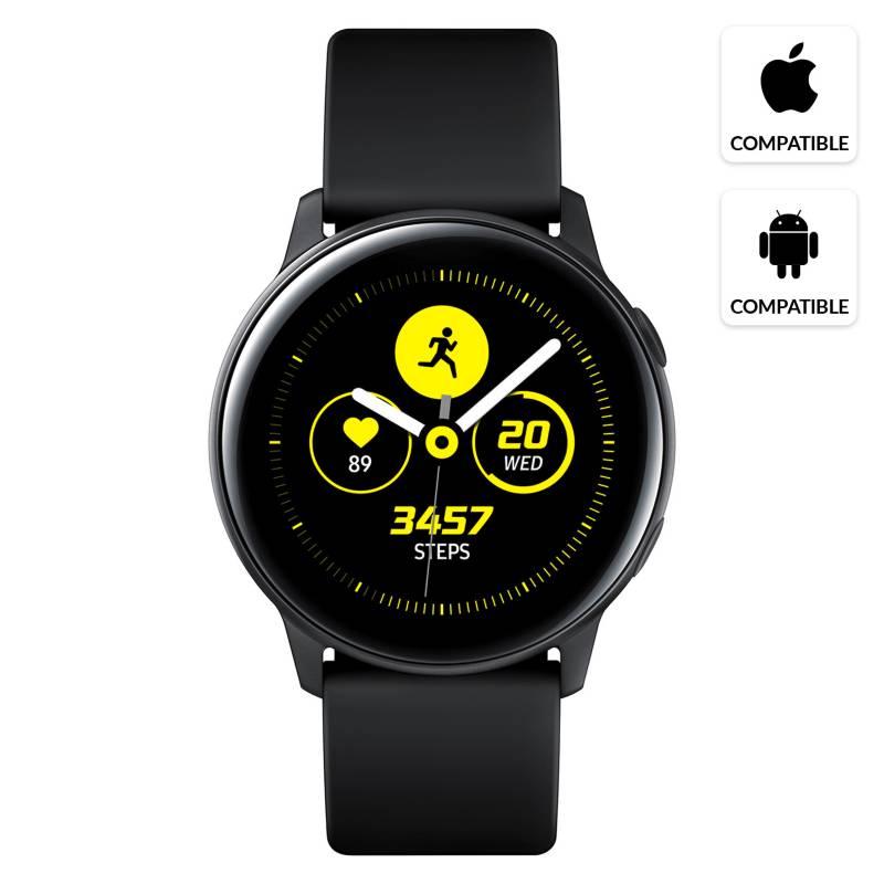 Samsung - Galaxy Watch Active Black