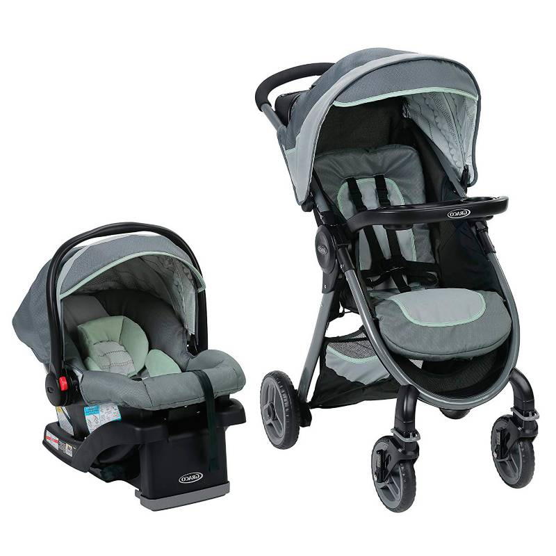 Graco - Coche Travel System Fast Action 2.0