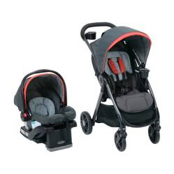 Graco - Coche Travel System Modes 3Lite Studio base isofix