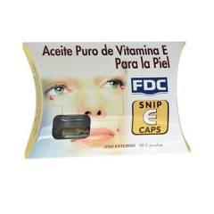 Fdc - Aceite Facial Vit E. x 10 dosis