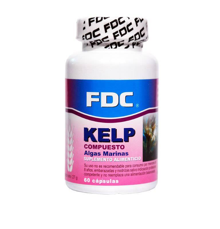 Fdc - Kelp X 60 Caps.