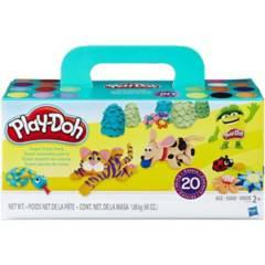 Play Doh - Play Doh Play Doh Pack 20 Colores Originales Potes