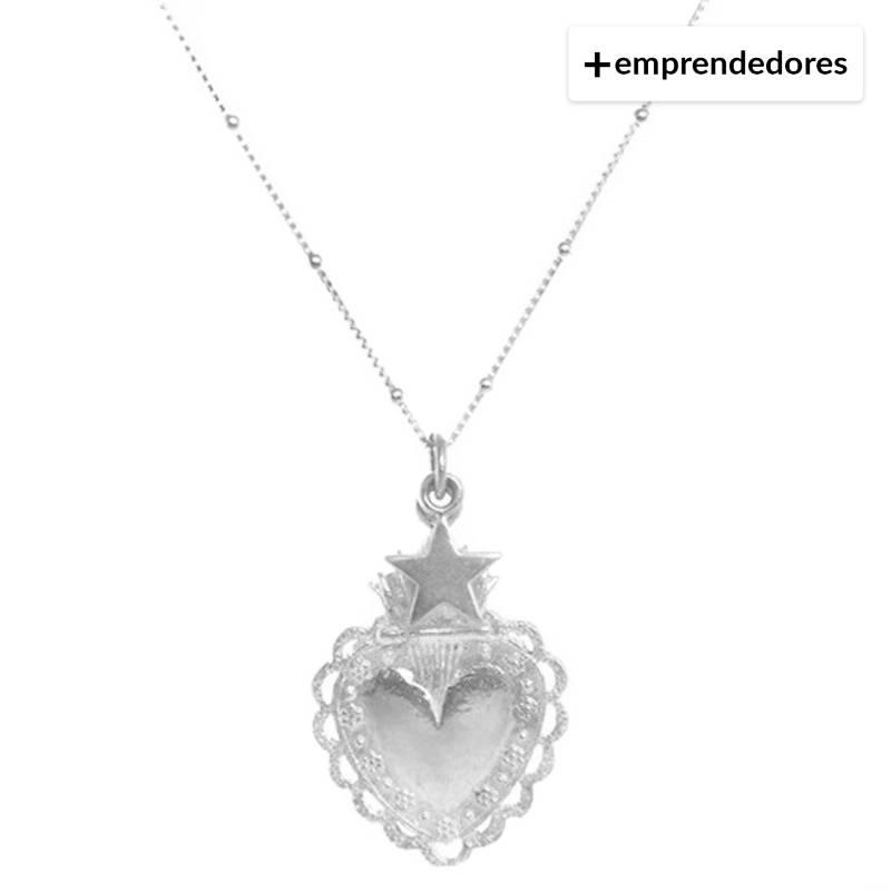 LA BENDITA JOYA - Collar Corazón Detente Xl