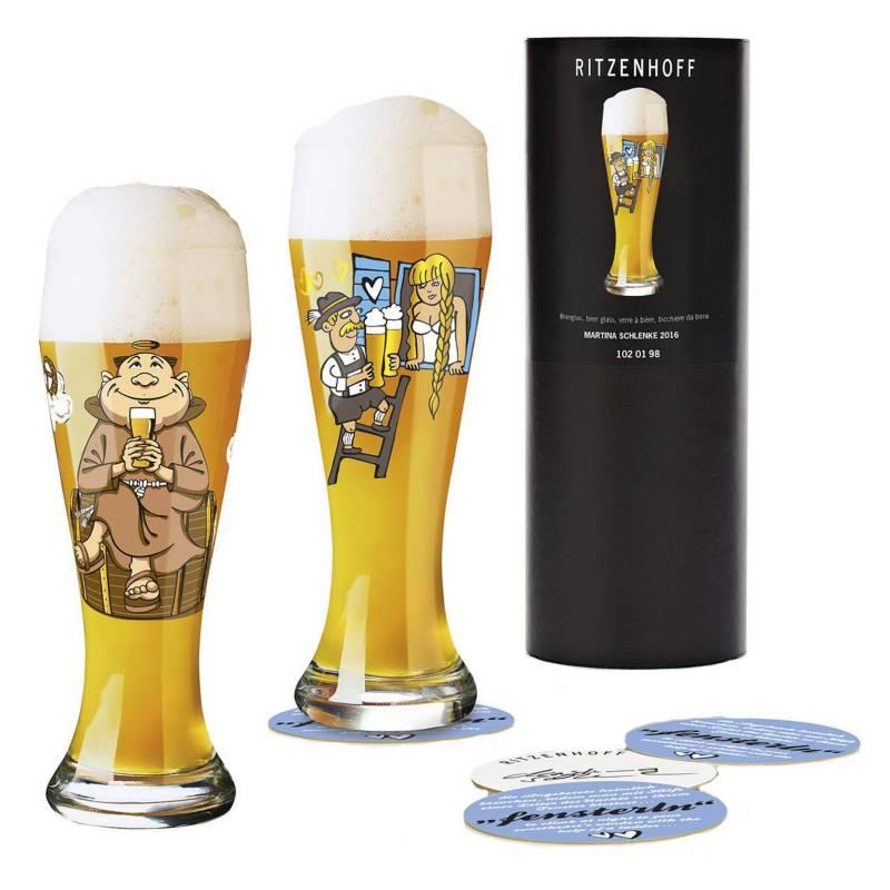 RITZENHOFF - Copón para Cerveza, Set de 2 Unidades