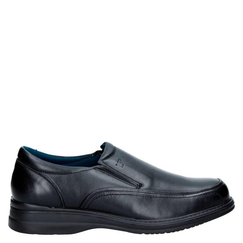16 Hrs - Zapato Formal Cuero Hombre W412 BLACK
