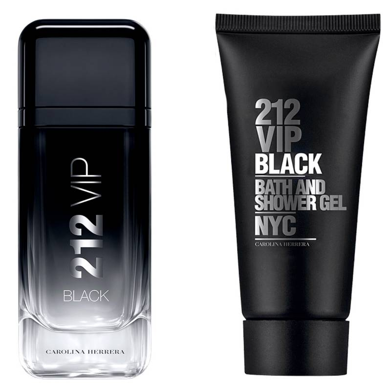 CAROLINA HERRERA - 212 Vip Men Black EDP 100 ML + Shower Gel 100 ML