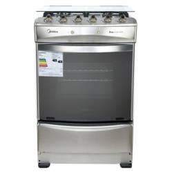 Midea - Cocina a Gas 4 Quemadores MCG-4QI24AME4