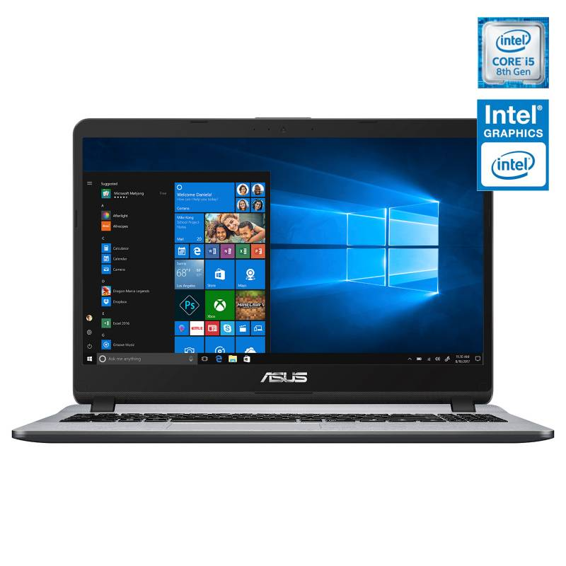 "Asus - Notebook Intel Core i5 4GB RAM + 16GB Intel Optane 1TB 15.6"""