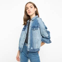 Only - Chaqueta de Jeans