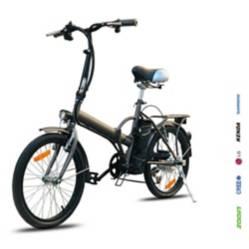 "Bicicleta Aro 20"" Electrica Plegable Antracita"