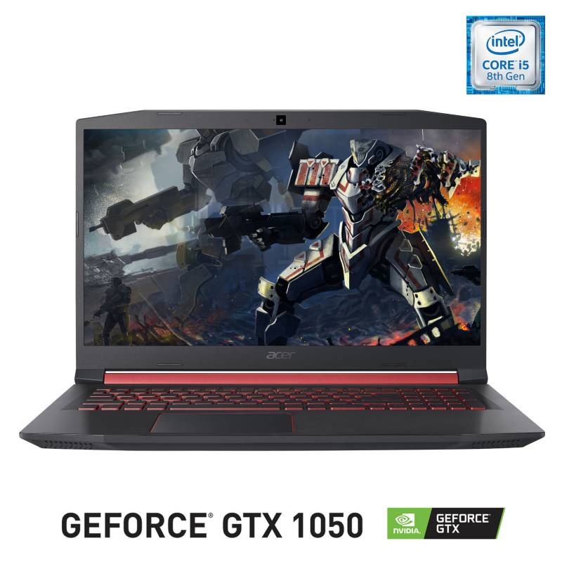 Acer - Notebook Gamer Intel Core i5 8GB RAM+16GB Intel Optane-1TB HDD NVIDIA GeForce GTX 15.6""