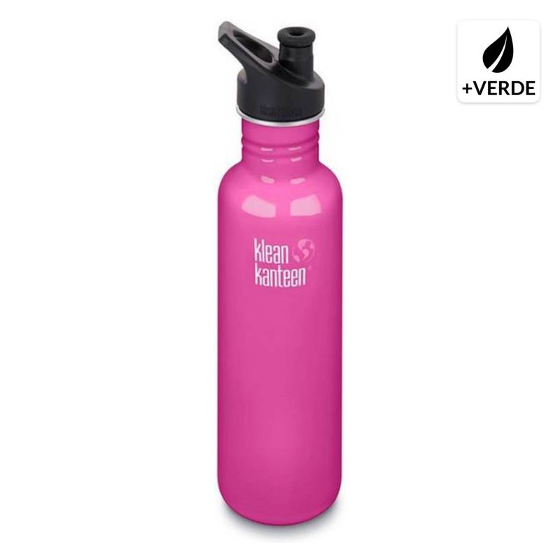 KLEAN KANTEEN - Botella Clásica 800 ml Tapa Sport 4X