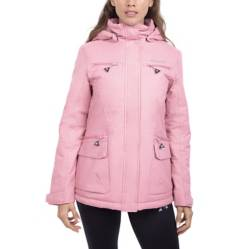 Le Coq Sportif - Parka Impermeable Mujer Madrid