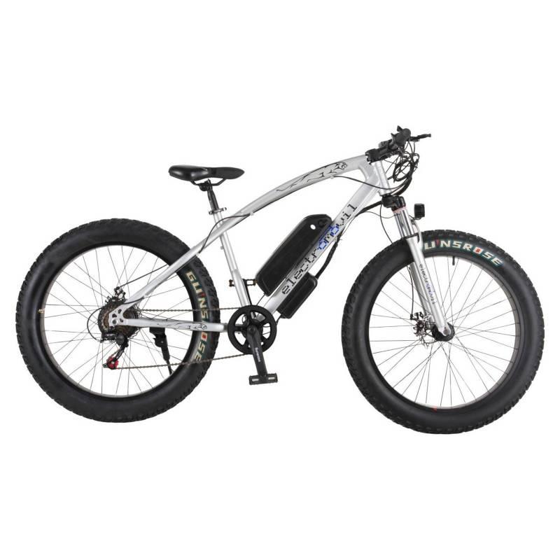ELECTROMOVIL - Bicicleta Eléctrica Fatbike 7 Cambios 3 Tiempos