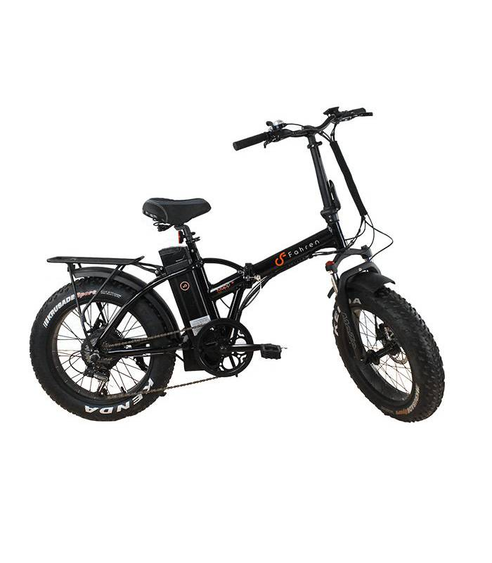 Fahren - Bicicleta Eléctrica Klapp + 500 Negra