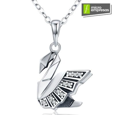 52801de7e6c4 Todo Joyas Collar Colgante Plata Cisne Origami - Falabella.com