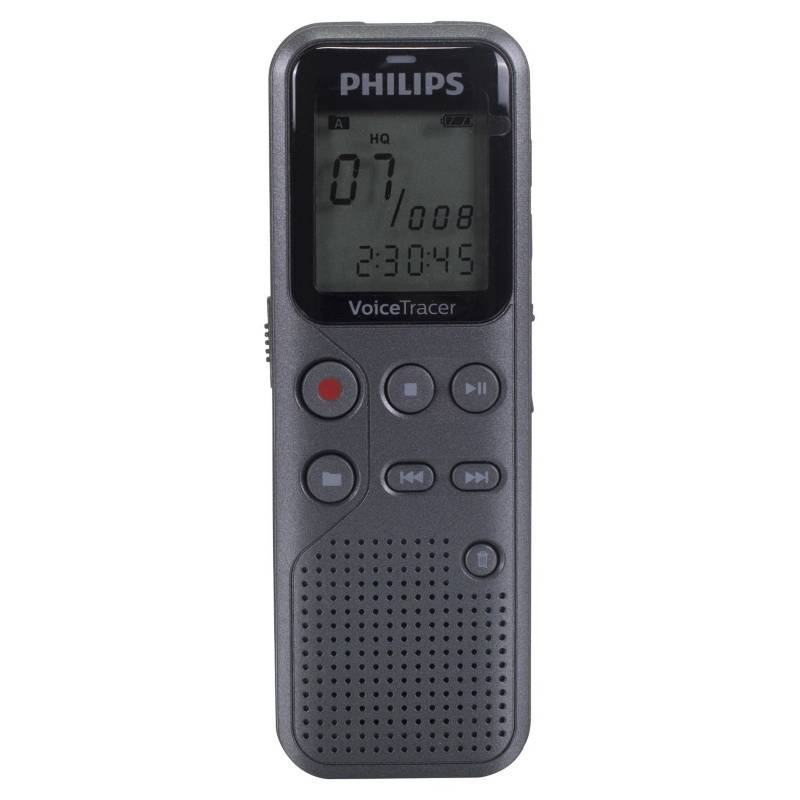 Philips - Philips Voice Recorder Philips 4 Gb Dvt1110