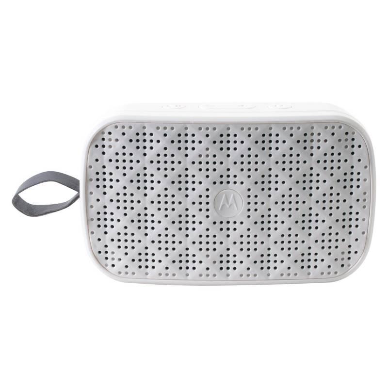 Motorola - Motorola Parlante Bluetooth Blanco Sonic 100