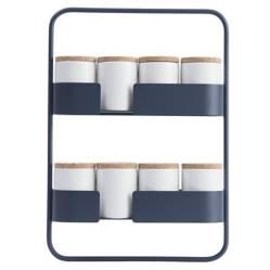 DESIGN BITE - Estantería de Especieros Azul