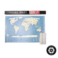 MAPPIN - Mapa del Mundo Travelshot