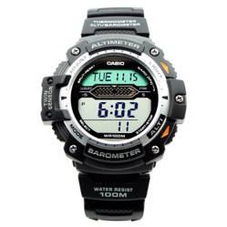 Casio - Reloj Triple Sensor Altímetro Barómetro Termóme