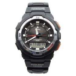 Casio - Reloj Deportivo Doble Sensor Brújula Termómetro