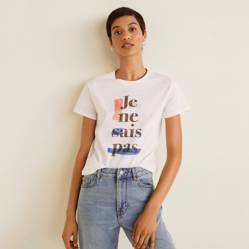 Mango Camiseta Newilust 43007801