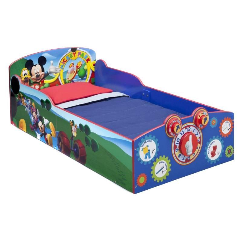 DELTA CHILDREN - Cama de Transición Interactiva Mickey