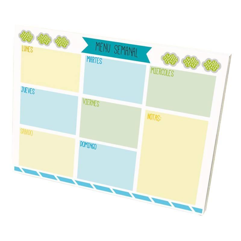 MI PEQUE - Set Block Planner Indispensables Familia