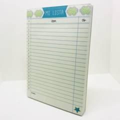 MI PEQUE - Cuaderno Mi Lista