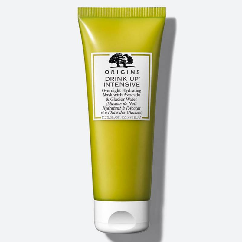 Origins - Mascarilla Drink Up Intensive Overnight Hydrating Mask with Avocado & Glacier Water 75 ml.