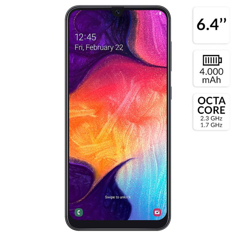 Entel - Smartphone Galaxy A50 64GB.