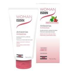 ISDIN - Crema Corporal Antiestrías Centella Asiática Rosa Mosqueta Woman Embarazo 250 ml