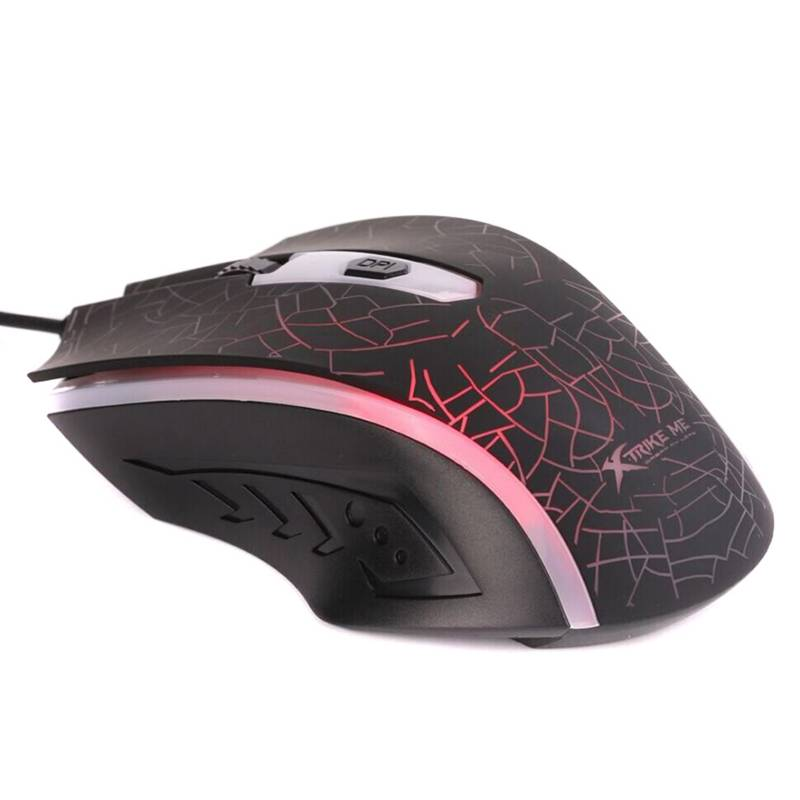 XTRIKE ME - Xtrike Me Mouse Gaming Xtrike Me 1200 Dpi Negro 4 Botones/ L